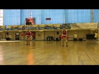 Отборочный Чемпионат СЧСЧР. TITANS-Cheer Dance Freestyle Pom 12.02.17
