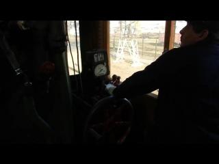 Вождение паровоза Су251-86