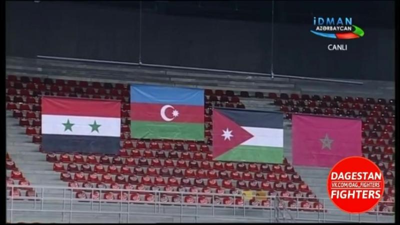 Церемония награждения Магомедрасула Меджидова на Исламиаде в Баку 2017