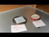 Реакция Металлического натрия с водой и перекисью водорода