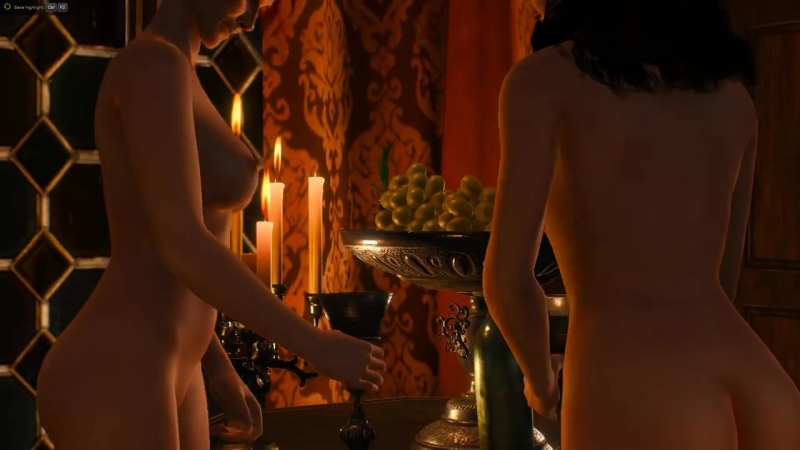 The Witcher 3 - Scene - Triss and Yennefer