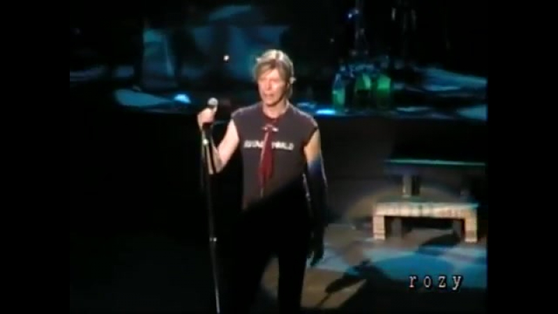 DAVID BOWIE - QUICKSAND - LIVE JAPAN 2004