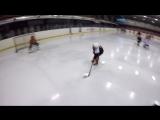 Ребята из Автомобилиста 2008 в хоккейном лагере Next level hockey