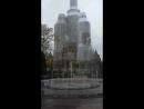 Муз. фонтан в Петергофе... ранним пасмурным утром...
