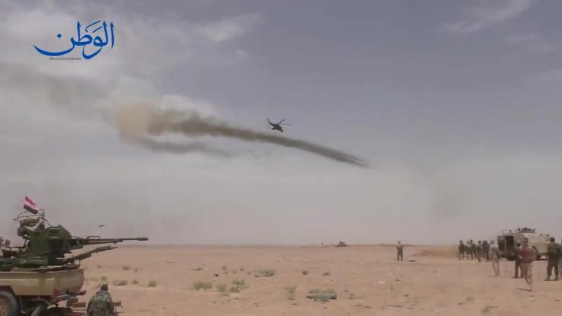 Маневр Карусель... Ударные вертолеты ВКС РФ в Сирии