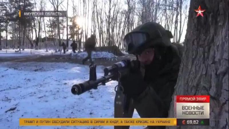 Спецназ ВВО бесшумно уничтожает «террористов»: кадры учений АрмияРоссии