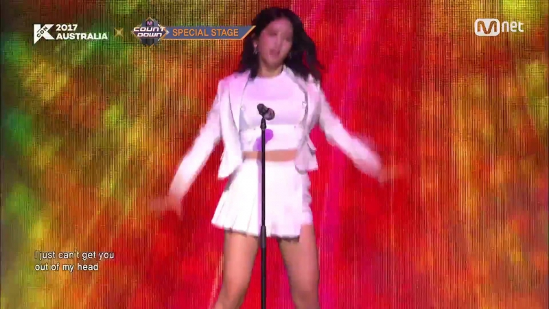 KCON 2017 AUSTRALIA×M COUNTDOWN|우주소녀(WJSN) _ Kylie Minogue Special(The Loco - motion Can′t Get You