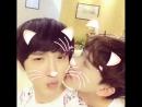Mom against kiss Korean boys love