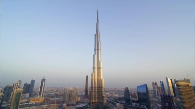 прыжок с башни Бурж Халифа. Дубай