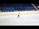 Самира - показательное выступление импровизация июнь 2017 Стерлитамак-Арена.