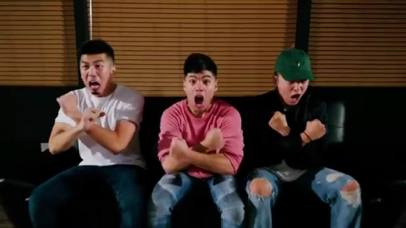 Throwin it back to when Antony Lee, Mike Song watched a scary movie w D-trix and got so scared they had to dance in AWFF | Danc