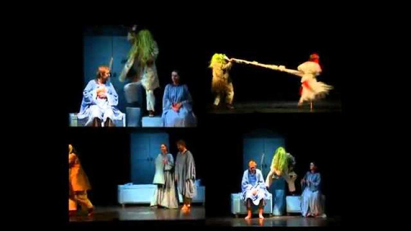 Spektaklis suaugusiems Eglė žalčių karalienė (Vilniaus teatras Lėlė)