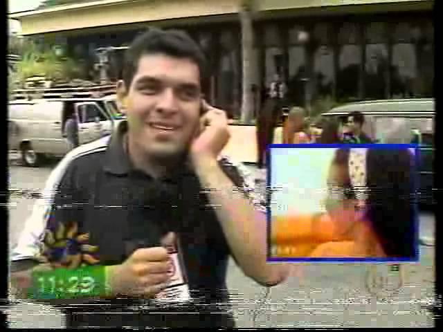 Natalia Oreiro Programa Viva la Mañana Chile 2001 Completo