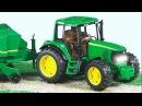 Трактор едет - Мультик Рабочие Машинки Грузовичок - Видео для детей