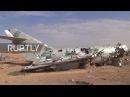 Сирия: Редкие изображения внутри стратегической авиабазы, захваченной СДС.