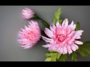 ABC TV How To Make Pink Chrysanthemum Flower From Printer Paper Craft Tutorial
