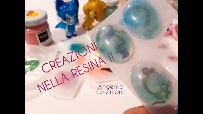 Angenia | scopriamo le creazioni in resina e NELLA resina :O !! 1