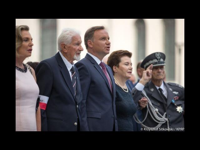 Prezydent Andrzej Duda uroczystości Powstania Warszawskiego - przemówienia Muzeum Powstania
