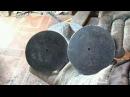 Как можно вырезать диски, большие шайбы болгаркой