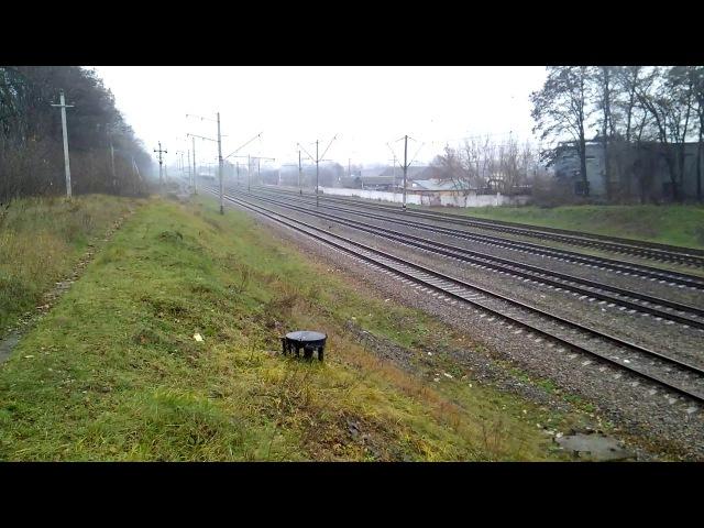 85 хв. запізнення ІС №748 Тернопіль-Київ заміна складу Skoda Ej675 на Hyundai HRSC2-007