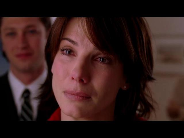 Грустный момент из фильма Дом у озера, Кейт узнаёт о смерти Алекса/The Lake House