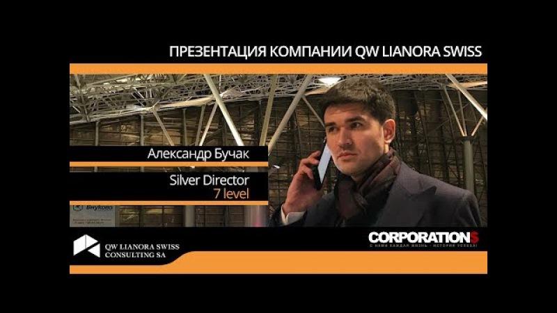 Александр Бучак Презентация компании QW Lianora Swiss 18 09 2017