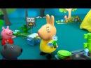 Peppa Pig in italiano. Peppa Pig e suoi amici hanno picnic. Peppa e George in campeggio
