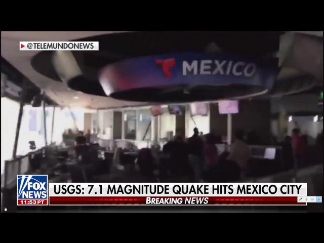 Mexico - Major Earthquake Hits Mexico City. 7.1 Magnitude!