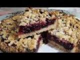 Пирог с ягодами рассыпчатый (постный) безумно вкусныйCake with berries (lean)