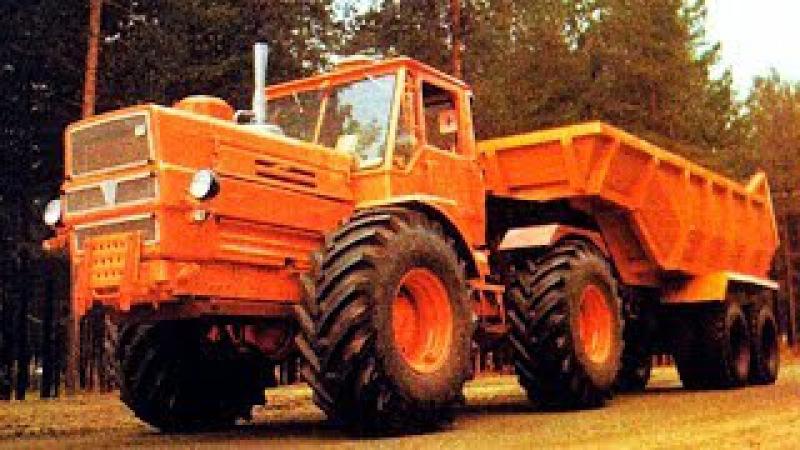 7 советских тракторов на которых перевыполнялись любые планы [АВТО СССР]