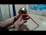 Как сделать узел из веревки на поисковый магнит