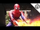 Толстый Человек-Паук мутузит хулиганов веб-шутерами