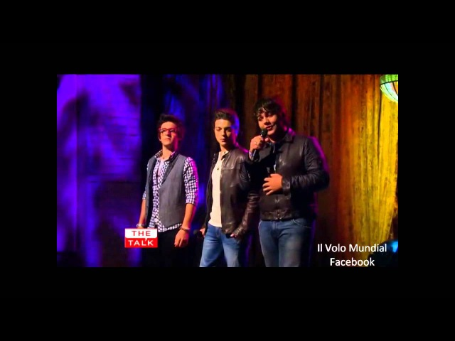 Il Volo @The Talk - Un amore cosi grande