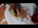 Роспись тарелки от Яны Шапран Декоративная тарелка на стену