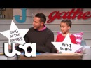 Big Star Little Star Backstreet Boys Howie Dorough And Son Sing In The Shower USA Network