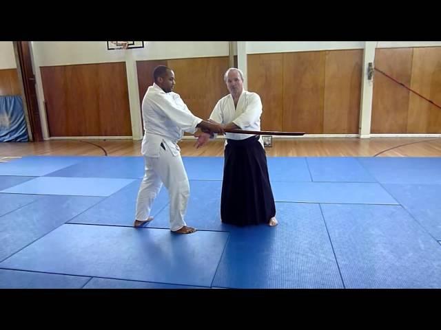 Weapons Course - Tachi dori with Peter Brady Shihan