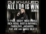 DJ Khaled  All I Do Is Win (Remix) (feat. T-Pain, Swizz Beatz, Rick Ross, P. Diddy, Nicki Minaj, Fabolous &amp 2 boys)