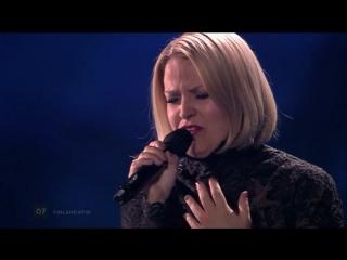 Norma John - Blackbird (Finland) LIVE at the first Semi-Final Евровидение 2017 Финляндия первый полуфинал 07