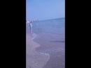 Полина на море