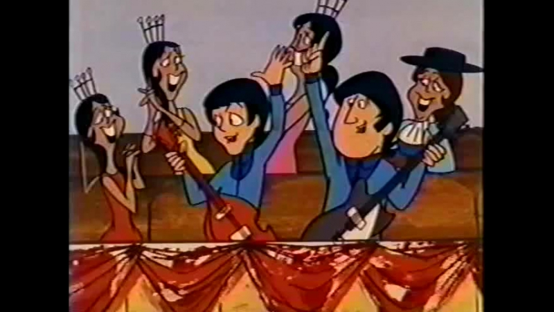 THE BEATLES CARTOON Episode 25a Please Please Me