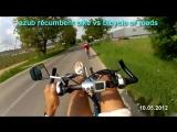 Azub recumbent vs road bicycle