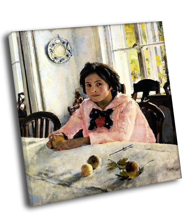 Картинка девочка с персиками, бухгалтер картинки