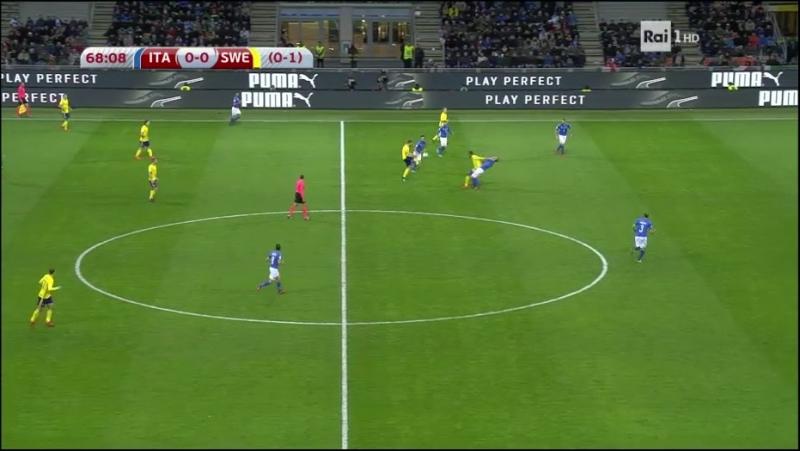 Italia - Svezia (second Halftime)