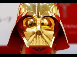 Золотая маска Дарта Вейдера в Токио