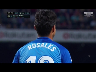Испания ЛаЛига Барселона - Малага 2:0 обзор  HD