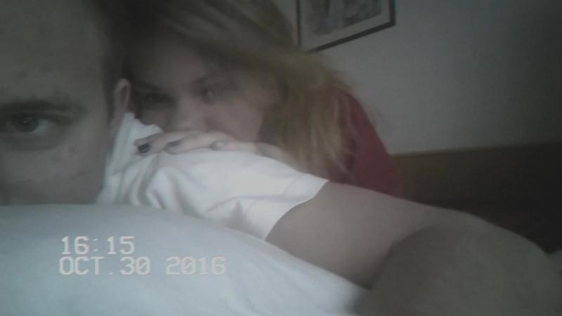 домашнее видео вдвоем на кровати 18
