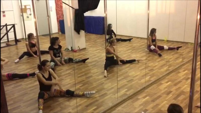 Pole Contemp от Наталии Егоровой. Pole Dance Style. продолжение связки