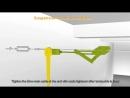 Установка текстильных воздуховодов Durkeesox кабельная система два троса