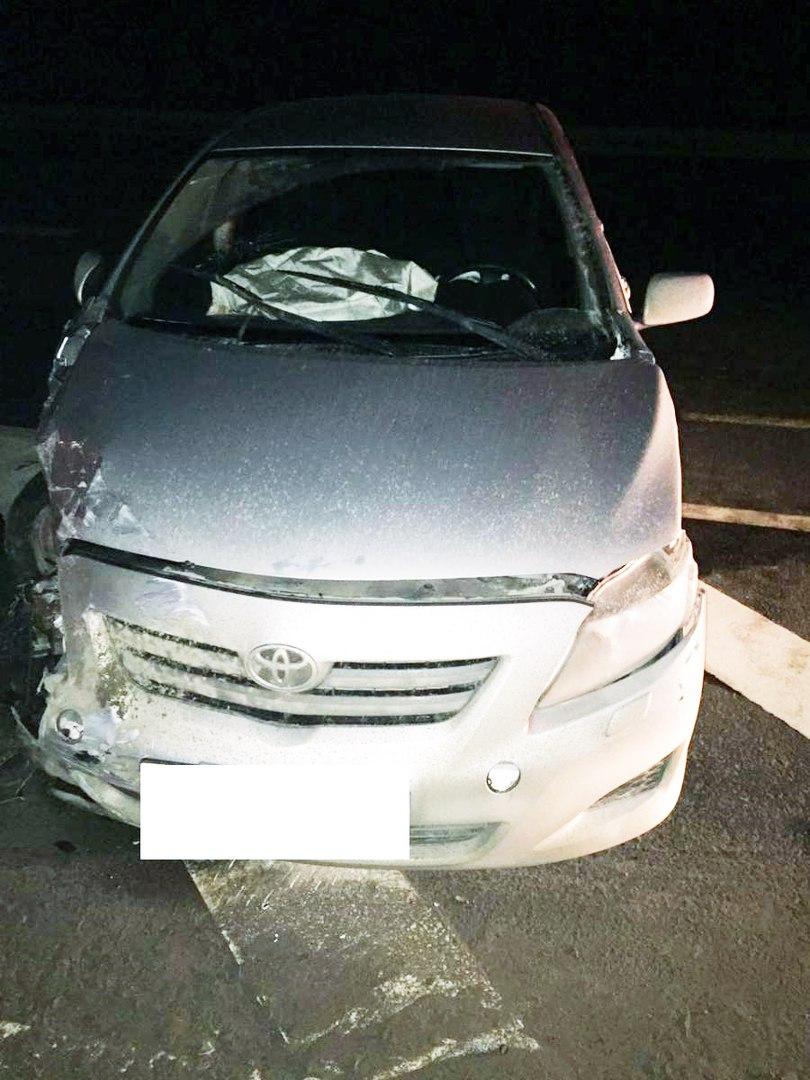 На трассе «Ростов-Таганрог» столкнулись четыре автомобиля, пострадала женщина