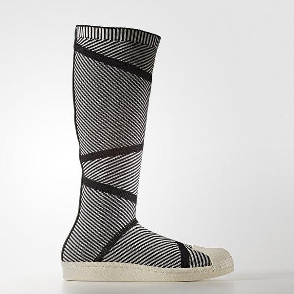Ботинки Superstar Primeknit High